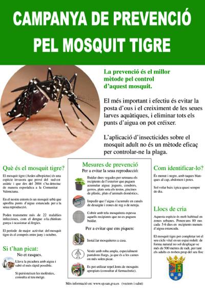 campanya prevenció mosquit tigre