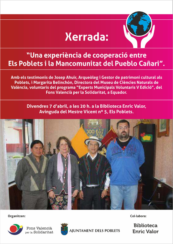 Cartell conferencia